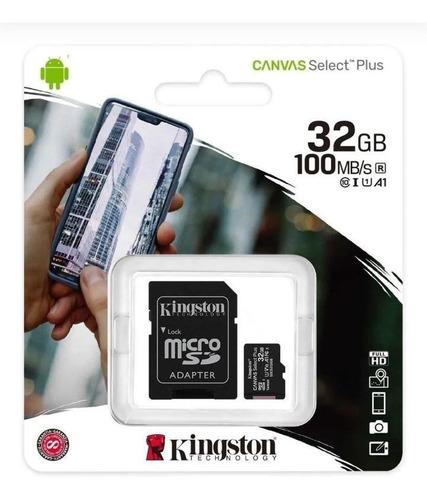 Memoria Microsd Micro  Sd Kingston 32gb Clase 10 Original