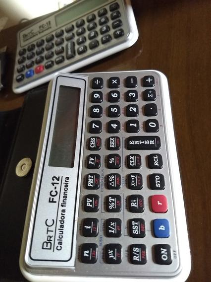 Calculadora Financeira Brtc Fc-12 (idêntica Hp 12c)