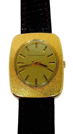 Reloj Original Girard Perregaux Con Baño De Oro (ref 738)