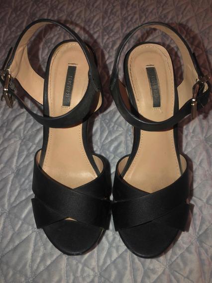 Zapatos Dama Forever21 Negros