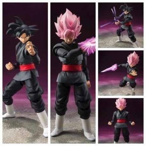 Dragon Ball Z Super Goku Black Figura Ação Articulada 16cm