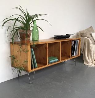 Mesa De Tv Vintage Escandinava Mod. 375