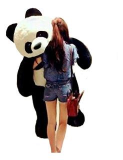Oso Panda Peluche Gigante De 1,50 Cm De Altura