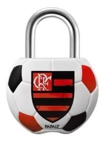 Cadeado Papaiz 25mm Times Clube Flamengo São Paulo Santos