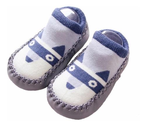 Imagem 1 de 8 de 3 Pares Meia Solado Infantil Conforto E Segurança Para Bebe