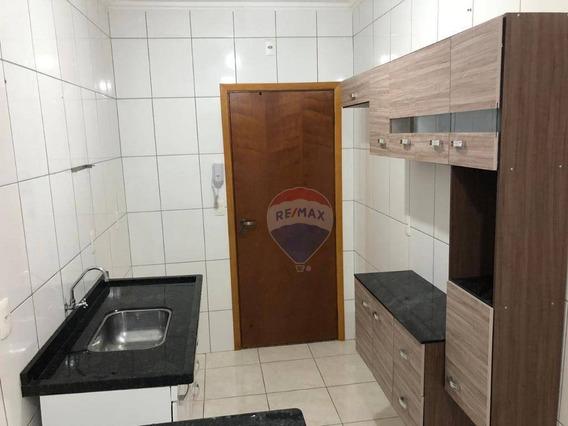 Apartamento Com 2 Dormitórios Para Alugar, 58 M² Por R$ 750,00/mês - Jardim Marajoara - Nova Odessa/sp - Ap0241