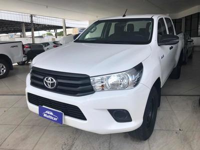 Hilux Cab Dupla 2.8 2019 4x4 Na Bahia Mecânica Couro+capota