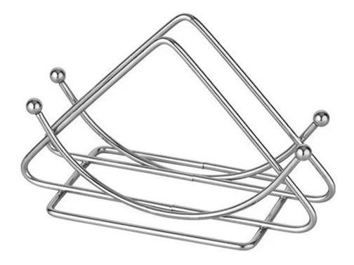 Servilletero Metal Por 12 Unidades Forma Triangular Full