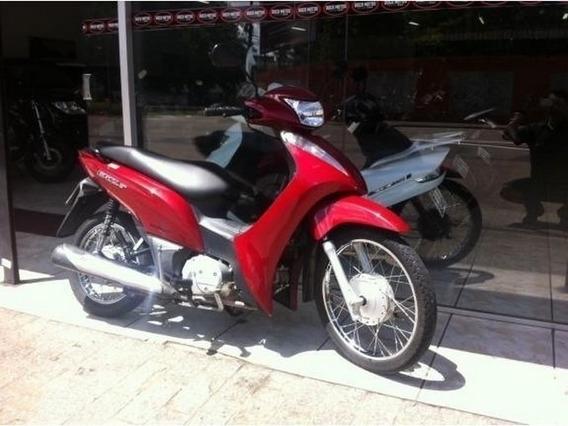Honda Biz 125 Es Vermelha 2013