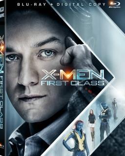 X-men First Class Blu Ray