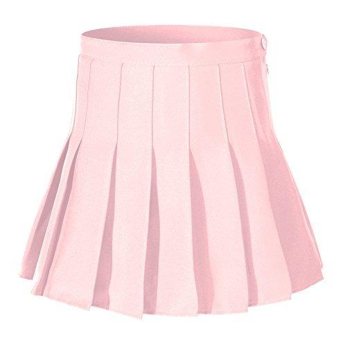 Disfraz De Falda Escolar Para Niña De Rayas Altas Y Plisadas