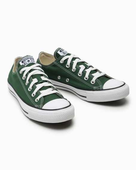 Tenis Converse All Star Core Cano Baixo Verde