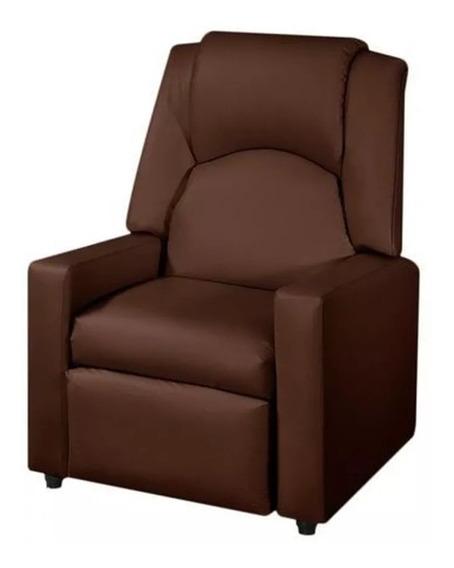 Poltrona Halley Corino Marrom - American Comfort