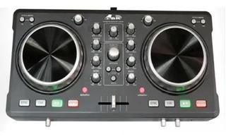 Controlador De Dj Gbr Pro Dj 100 Mki Mixer Placa Mkii Usb