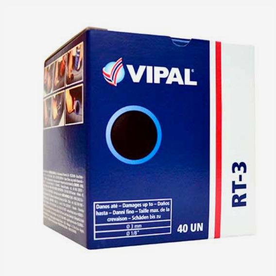 20-remendo Vipal Modelo Rt-3 Para Pneu Sem Câmara - 60mm