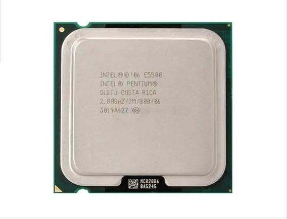 Processador Intel Pentium Dual-core E5500 2.8ghz 800mhz