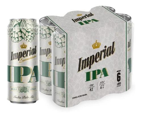 Cerveza Imperial Ipa Lata X473 Pack X 6