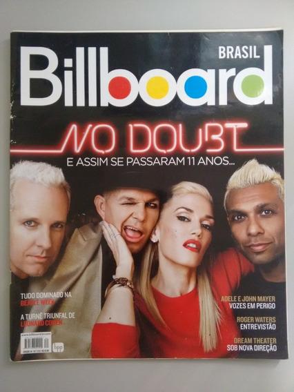 Revista Billboard No Doubt 34 Roger Waters Dream Theate Y072