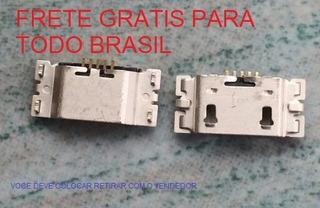 Kit 50 Conector Usb De Carga Motorola G5s Plus Via Carta Reg