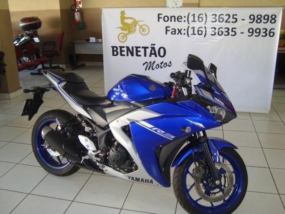 Yamaha Yzf R3 Azul 2018