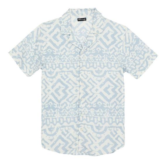 Camisa Viscosa Manga Corta De Hombre C&a 1050559