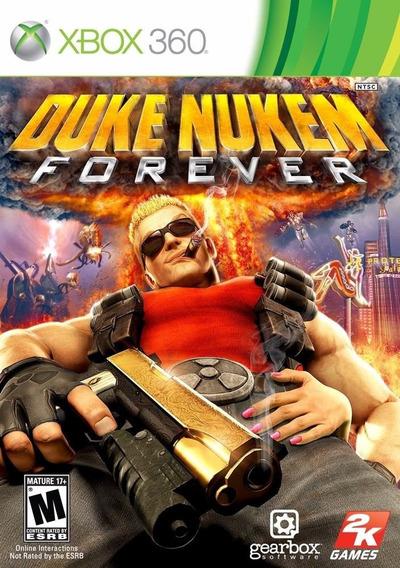Duke Nukem Forever Microsoft Xbox 360 Mídia Física Envio 12,00 Jogo Original De Tiro Para Xbox-360