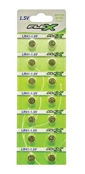 1 Cartels 14un Bateria Lr41 + 1 Cartela 10un Pilha Lr44