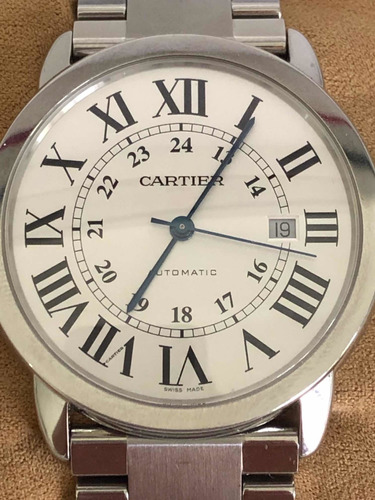 Cartier Rounde Solo 42mm