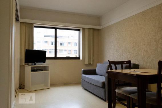 Apartamento Para Aluguel - Itaim Bibi, 1 Quarto, 36 - 893095176