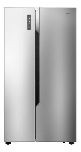 Imagen 1 de 2 de Heladera no frost Philco 94PHSB555XT acero inoxidable con freezer 555L 220V