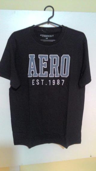 Camiseta Masc. Aeropostale Original - Aero Est 1987 Graphic