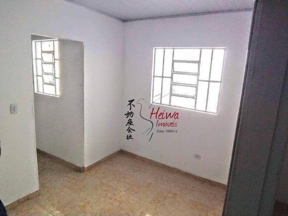 Casa Com 1 Dormitório Para Alugar, 50 M² Por R$ 800,00/mês - Parque São Domingos - São Paulo/sp - Ca1020
