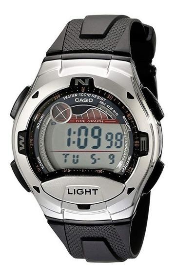 Reloj Casio Para Caballero W753-1avcb Digital Luna Y Marea
