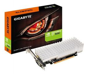 Placa De Vídeo Gigabyte Geforce Gt 1030 Silent Low Profile