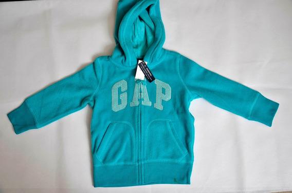 Jaqueta Gap Kids Capuz - Nova - Xs