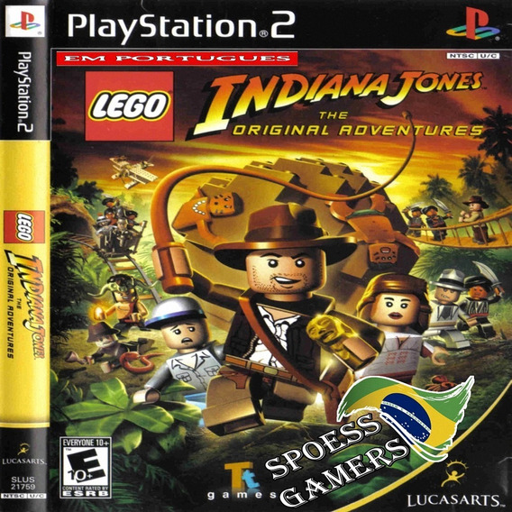 Lego Indiana Jones The Original Adventures Ps2 Pt-br Patch
