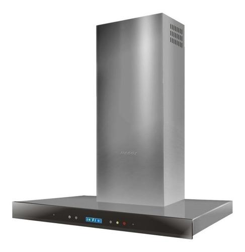 Imagen 1 de 4 de Campana Cocina Llanos 90 Cm Premium Touch Acero Inoxidable