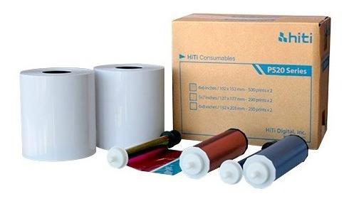Papel Hiti P520 1 Kit 10x15 E 1 Kit 15x20