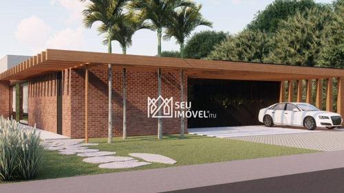 Casa Com 4 Dormitórios À Venda, 419 M² Por R$ 2.200.000,00 - Condomínio Parque Ytu Xapada - Itu/sp - Ca2245