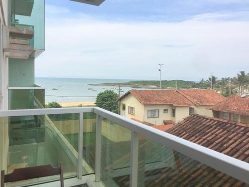 Apartamento Em Enseada Azul, Guarapari/es De 55m² 1 Quartos À Venda Por R$ 290.000,00 - Ap198939