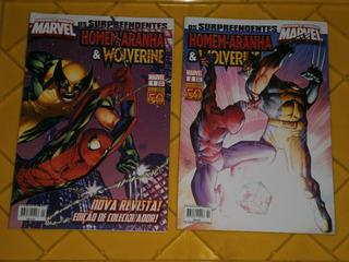 Grandes Herois Marvel - Wolverine, Aranha,x-men Diversos