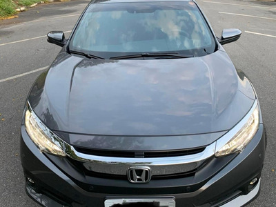 Honda Civic Touring 2018 24000km Zerado Na Garantia!