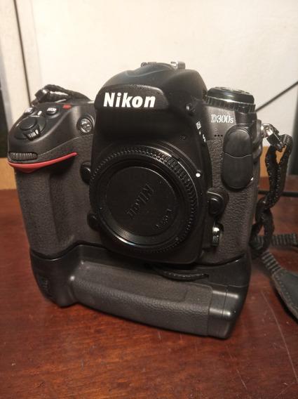 Nikon D300s Grip + Lente + Filma Parcelado 12x Frete Gratis