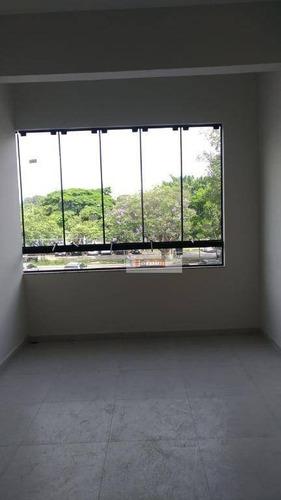 Imagem 1 de 6 de Sala Para Alugar, 13 M² Por R$ 850,00/mês - Paulicéia - São Bernardo Do Campo/sp - Sa0340