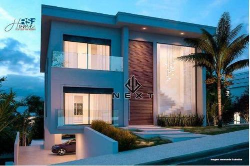 Imagem 1 de 4 de Casa Com 4 Suites À Venda, 556 M² No Residencial Genesis Ii Em Alphaville - Sp - Ca0596