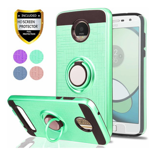 Moto Z2 Play Phone Funda With Hd Screen Protector,ymhxcy 360