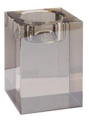 Candelabro De Cristal Rectangular