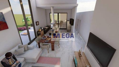 Imagem 1 de 18 de Casa Com 3 Dormitórios À Venda, 222 M² Por R$ 1.630.000 - Swiss Park - Campinas/sp - Ca2391