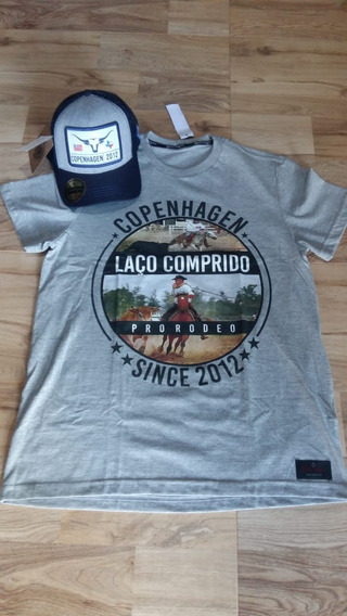 Kit Camiseta Bone Copenhagen Country