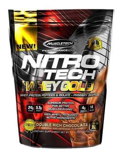 Whey Gold Nitro Tech 454g Muscletech